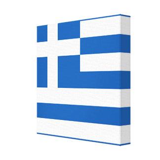 Flag of Greece, Greek Canvas Print