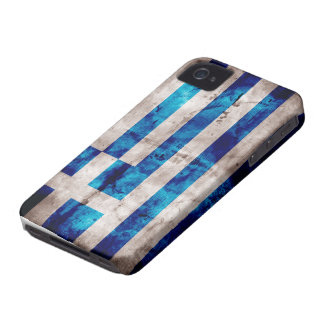 Flag of Greece; Greek iPhone 4 Cover