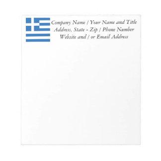 Flag of Greece, Greek Notepad