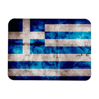 Flag of Greece; Greek Rectangular Photo Magnet