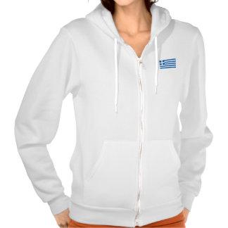 Flag of Greece Hooded Sweatshirt