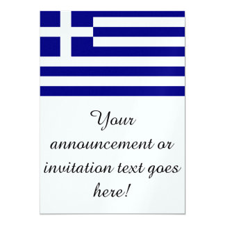 Flag of Greece Personalized Invites
