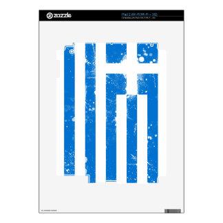 Flag of Greece iPad 2 Skin