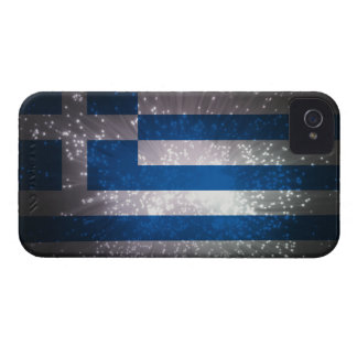 Flag of Greece iPhone 4 Case-Mate Cases