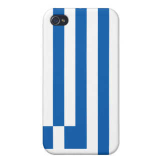 Flag of Greece Cover For iPhone 4