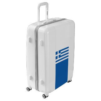 Flag of Greece Luggage (Large)