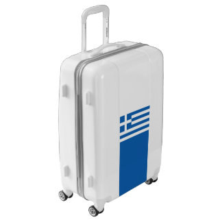 Flag of Greece Luggage (Medium)
