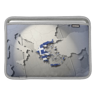 Flag of Greece MacBook Air Sleeve