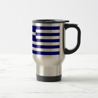 Flag of Greece 15 Oz Stainless Steel Travel Mug