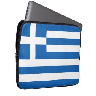Flag of Greece Neoprene Laptop Sleeve