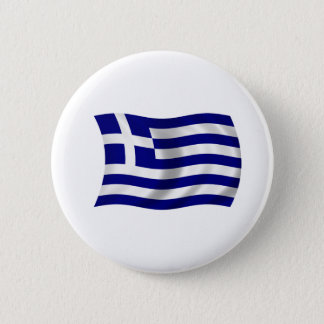 Flag of Greece Pinback Button