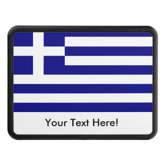 Flag of Greece Hitch Cover