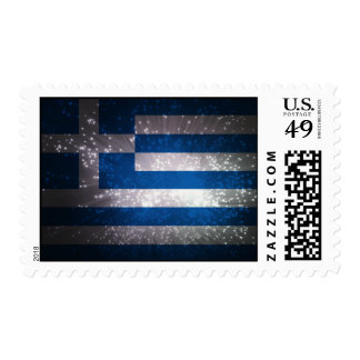 Flag of Greece Stamp