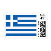 Flag of Greece Postage Stamps