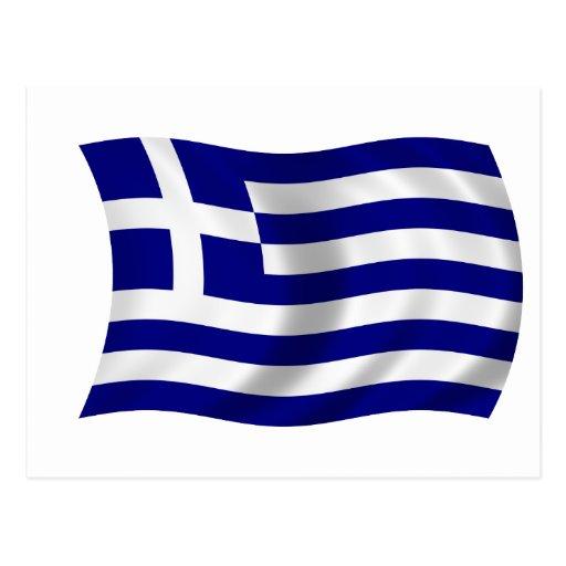 Flag of Greece Postcards