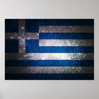Flag of Greece Print
