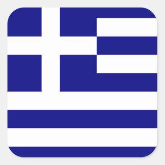 Flag of Greece Square Sticker