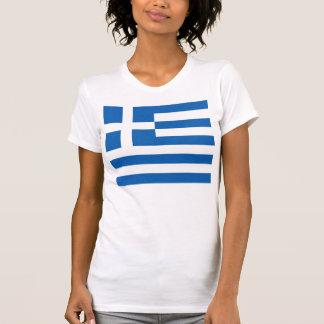 Flag of Greece T Shirt