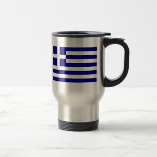Flag of Greece Travel Mug