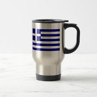 Flag of Greece Travel Mug