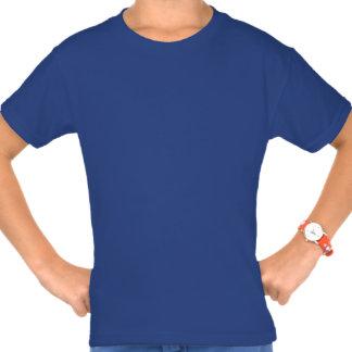 Flag Of Greece White Text Blue Tee Shirt