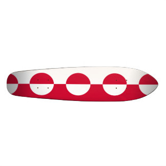 Flag of Greenland Skateboard