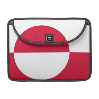 Flag of Greenland Sleeve For MacBook Pro