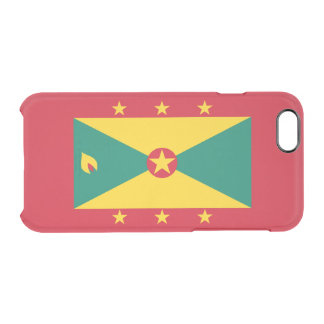 Flag of Grenada Clear iPhone Case