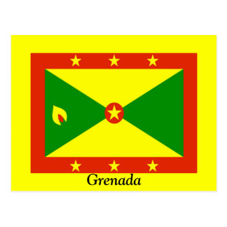 Flag of Grenada Postcard