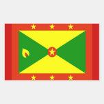 Flag of Grenada Rectangular Sticker