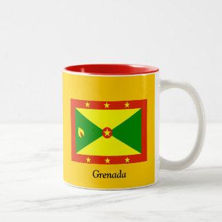 Flag of Grenada Two-Tone Coffee Mug