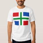 Flag of Groningen (province) T-Shirt