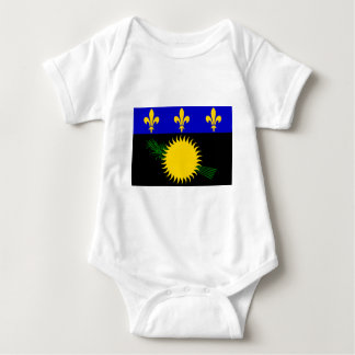 Flag of Guadeloupe Baby Bodysuit