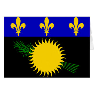 Flag of Guadeloupe Card