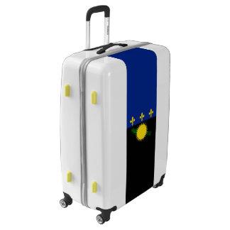 Flag of Guadeloupe Luggage (Large)