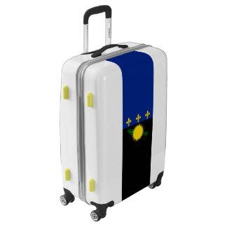 Flag of Guadeloupe Luggage (Medium)