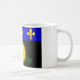 Flag of Guadeloupe Mugs