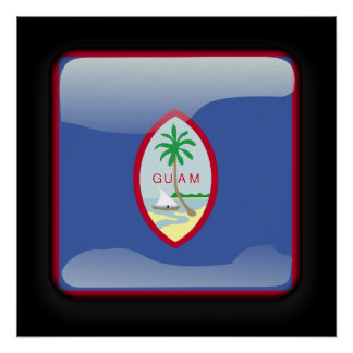 Flag of Guam Poster
