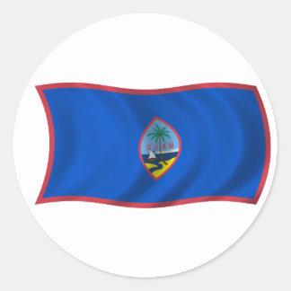 Flag of Guam Stickers