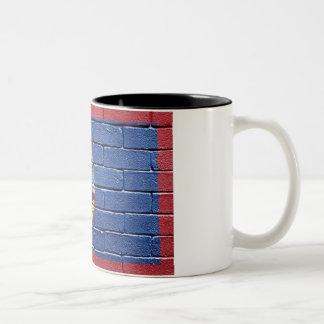 Flag of Guam Two-Tone Coffee Mug