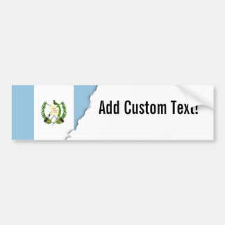Flag of Guatamala Bumper Sticker
