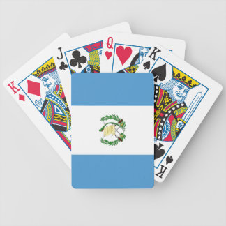 Flag of Guatemala Bicycle Playing Cards