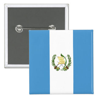 Flag of Guatemala - Central American Pinback Button