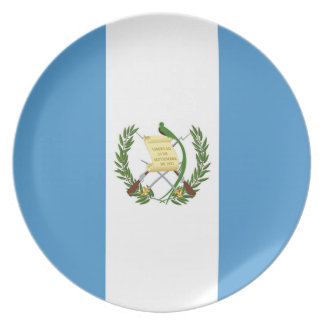 Flag of Guatemala - Central American Plate