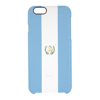 Flag of Guatemala Clear iPhone Case