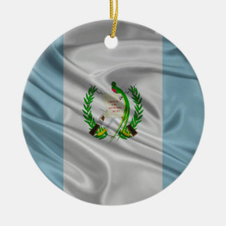 Flag of Guatemala Christmas Tree Ornament