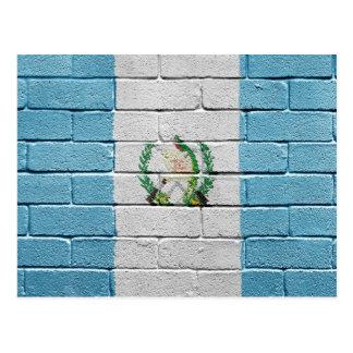 Flag of Guatemala Postcard