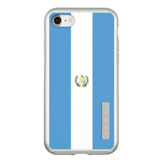 Flag of Guatemala Silver iPhone Case