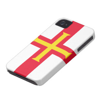 Flag of Guernsey iPhone 4 Case-Mate Cases