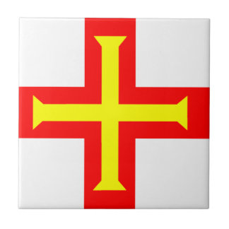 Flag of Guernsey Ceramic Tile